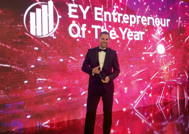 Robert Ermich beim EY Entrepeneur Of The Year